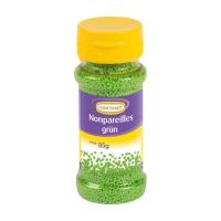 Décors en sucre à parsemer nonpareilles, verts, 12 X85g