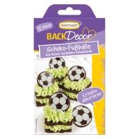 15 pcs Ballons de Football en chocolat