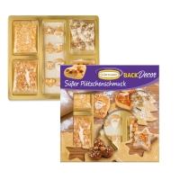 10 pcs Kit de décorations sur biscuits