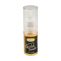 12 pcs Pumpspray scintillant or, colorant alimentaire
