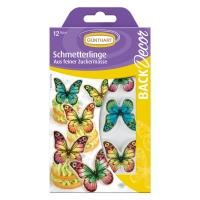 15 pcs Plaquette décor Papillons
