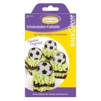 15 Ballons de Football en chocolat