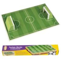 9 Disque décor, Terrain de football