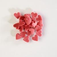 1,5 Kg Cœurs en sucre, rouges