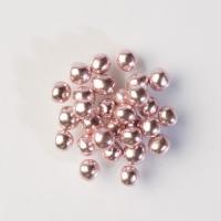 1 pcs Perles brillantes, roses, , chocolaté et crustillant