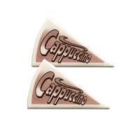 120 pcs Décors triangle  Cappuccino