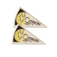 120 pcs Décors triangle  Citron