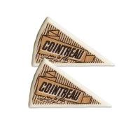 120 pcs Décors triangle  Cointreau