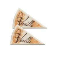 120 pcs Décors triangle Vanille
