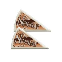 120 pcs Décors triangle Nougat