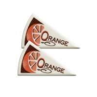 "120 Décors triangle ""Orange"""