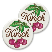 12 pcs Plaquettes en masse à base de sucre Kirch