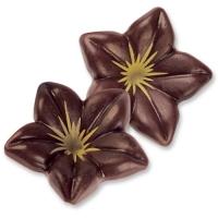 76  pcs Petites fleurs 3D