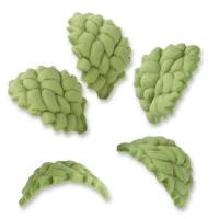 150 pcs Petites feuilles vertes