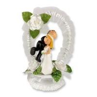 1 Couple de mariés en résine