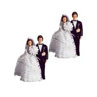 5 Grands couples de mariés