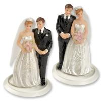 Couples de mariés sur embase petit modèle 2 versions
