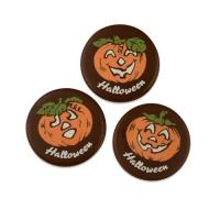Citrouilles Halloween en chocolat noir, ass. 1 X160 pcs