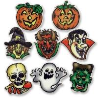 100 pcs Personnages d'Halloween amusants