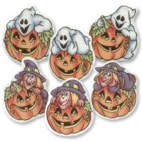 100 pcs Plaquettes Halloween humoristiques