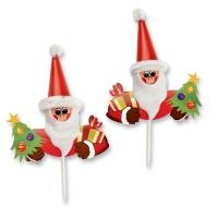 100 pcs Piques Père-Noël
