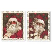 24 Plaquettes Père-Noël  Nostalgie