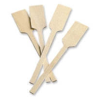 100 pcs Mini-pelles de boulanger en bois