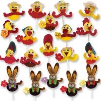 100 Amusantes figurines de Pâques