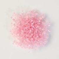 1 pcs Sucre rose  paillettes  à parsemer
