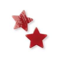 280 Pce. Étoiles, chocolat ruby, ass.