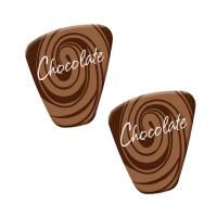 140 pcs Décors pour spécialités  Chocolate
