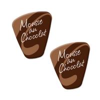 140 pcs Décors pour spécialités  Mousse au Chocolate