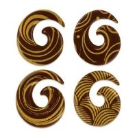 140 pcs Petit rond en or, chocolat noir, assorti