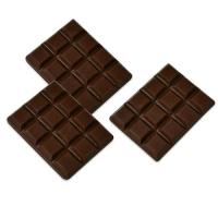 96 pcs Mini tablette chocolat noir