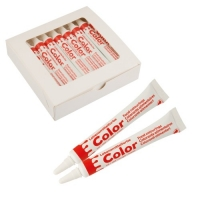Colorants alimentaires rouge