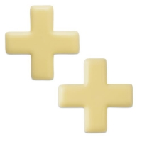 96 pcs Croix Suisse, chocolat blanc