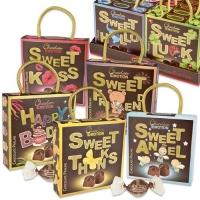 16 pcs Assortiment de pochettes Sweet garnie de pralinés