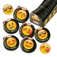36 pcs Medaillons pralinés  Emoticons