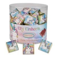"""Napolitains """"Elly Einhorn"""" (fourrés crème noisettes)"""