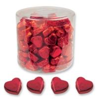 2 Boites de petits cœurs pralinés rouges