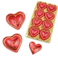Aimant Love coeur pralinés 1 X16 pcs - 70 x 65 x 27 mm