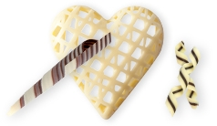 Filigranes en chocolat