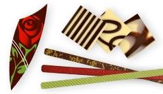 Plaquettes en chocolat
