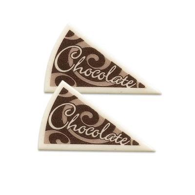 120 pcs Décors triangle  Chocolate