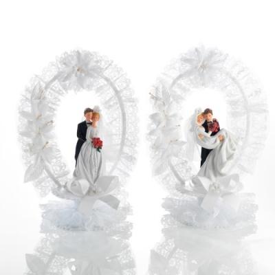 2 Couples de mariés en résine